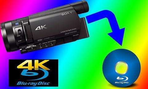 4K Video transfer to Blu ray